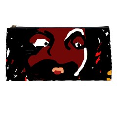 Abstract Face  Pencil Cases by Valentinaart