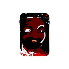 Abstract Face  Apple Ipad Mini Protective Soft Cases by Valentinaart