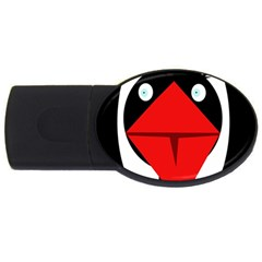 Duck Usb Flash Drive Oval (2 Gb)  by Valentinaart