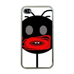 Face Apple Iphone 4 Case (clear) by Valentinaart