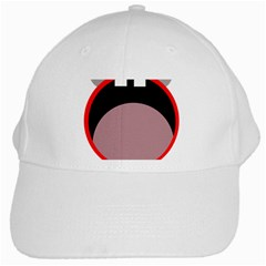 Funny Face White Cap