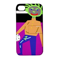 Goalkeeper Apple Iphone 4/4s Hardshell Case With Stand by Valentinaart