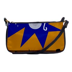 Decorative Abstraction Shoulder Clutch Bags by Valentinaart
