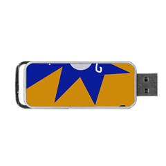 Decorative Abstraction Portable Usb Flash (one Side) by Valentinaart