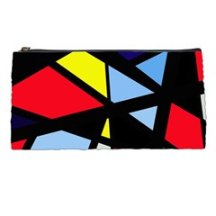 Colorful Geomeric Desing Pencil Cases by Valentinaart