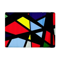 Colorful Geomeric Desing Apple Ipad Mini Flip Case by Valentinaart