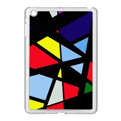 Colorful Geomeric Desing Apple Ipad Mini Case (white) by Valentinaart