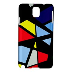 Colorful Geomeric Desing Samsung Galaxy Note 3 N9005 Hardshell Case by Valentinaart