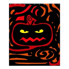 Halloween Pumpkin Shower Curtain 60  X 72  (medium)  by Valentinaart