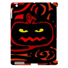 Halloween Pumpkin Apple Ipad 3/4 Hardshell Case (compatible With Smart Cover) by Valentinaart