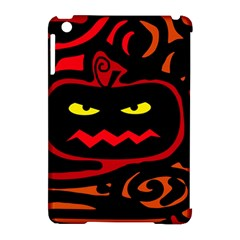 Halloween Pumpkin Apple Ipad Mini Hardshell Case (compatible With Smart Cover) by Valentinaart
