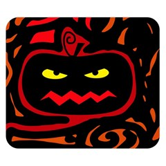 Halloween Pumpkin Double Sided Flano Blanket (small)  by Valentinaart