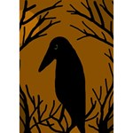 Halloween raven - brown I Love You 3D Greeting Card (7x5) Inside