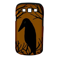 Halloween Raven   Brown Samsung Galaxy S Iii Classic Hardshell Case (pc+silicone)