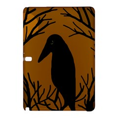 Halloween Raven   Brown Samsung Galaxy Tab Pro 10 1 Hardshell Case