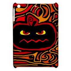 Halloween Decorative Pumpkin Apple Ipad Mini Hardshell Case by Valentinaart