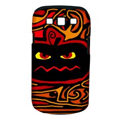 Halloween Decorative Pumpkin Samsung Galaxy S Iii Classic Hardshell Case (pc+silicone) by Valentinaart