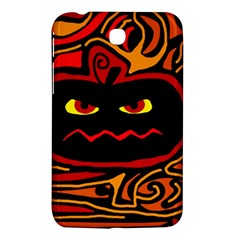Halloween Decorative Pumpkin Samsung Galaxy Tab 3 (7 ) P3200 Hardshell Case  by Valentinaart