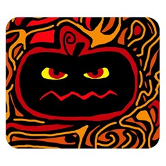 Halloween Decorative Pumpkin Double Sided Flano Blanket (small)  by Valentinaart