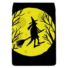 Halloween Witch   Yellow Moon Flap Covers (s)  by Valentinaart