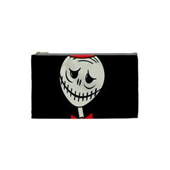 Halloween Monster Cosmetic Bag (small)  by Valentinaart