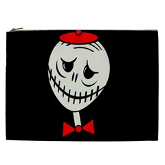 Halloween Monster Cosmetic Bag (xxl)  by Valentinaart