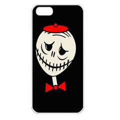 Halloween Monster Apple Iphone 5 Seamless Case (white) by Valentinaart