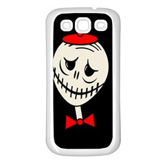 Halloween Monster Samsung Galaxy S3 Back Case (white)