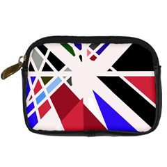 Decorative Flag Design Digital Camera Cases by Valentinaart