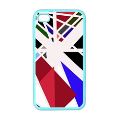 Decorative Flag Design Apple Iphone 4 Case (color) by Valentinaart