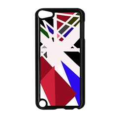Decorative Flag Design Apple Ipod Touch 5 Case (black) by Valentinaart