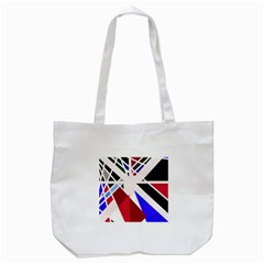 Decorative Flag Design Tote Bag (white) by Valentinaart