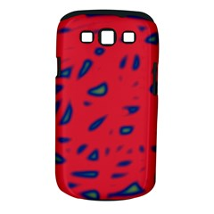 Red Neon Samsung Galaxy S Iii Classic Hardshell Case (pc+silicone)