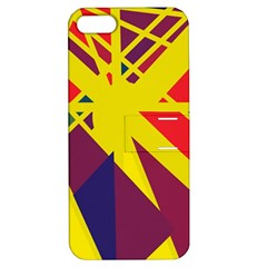 Hot Abstraction Apple Iphone 5 Hardshell Case With Stand by Valentinaart