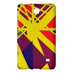 Hot Abstraction Samsung Galaxy Tab 4 (7 ) Hardshell Case  by Valentinaart