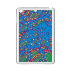 Colorful Neon Chaos Ipad Mini 2 Enamel Coated Cases by Valentinaart