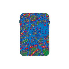 Colorful Neon Chaos Apple Ipad Mini Protective Soft Cases by Valentinaart