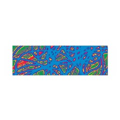 Colorful Neon Chaos Satin Scarf (oblong) by Valentinaart