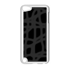 Gray Apple Ipod Touch 5 Case (white) by Valentinaart