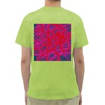 Red neon Green T-Shirt Back