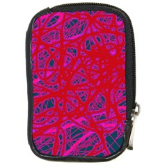 Red Neon Compact Camera Cases
