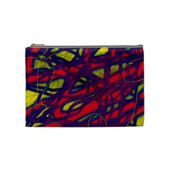 Abstract High Art Cosmetic Bag (medium)  by Valentinaart