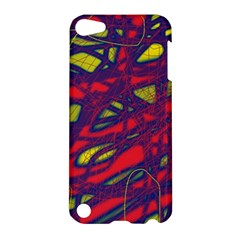 Abstract High Art Apple Ipod Touch 5 Hardshell Case by Valentinaart