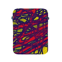 Abstract High Art Apple Ipad 2/3/4 Protective Soft Cases by Valentinaart