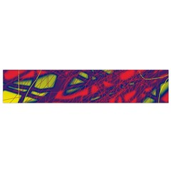 Abstract High Art Flano Scarf (small) by Valentinaart