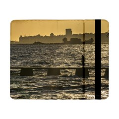 River Plater River Scene At Montevideo Samsung Galaxy Tab Pro 8 4  Flip Case by dflcprints