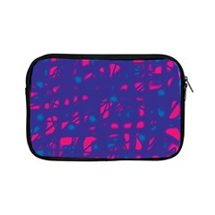 Blue And Pink Neon Apple Ipad Mini Zipper Cases by Valentinaart