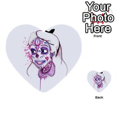 Alice Sugar Skull Multi Purpose Cards (heart)