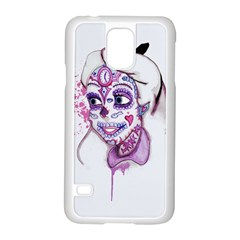 Alice Sugar Skull Samsung Galaxy S5 Case (white) by lvbart