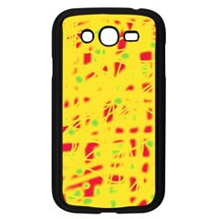 Yellow And Red Samsung Galaxy Grand Duos I9082 Case (black) by Valentinaart